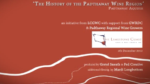 History of Padthaway You Tube