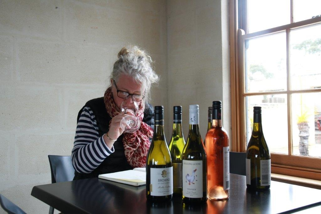 Jane Skilton, International Wine Judge October 2016